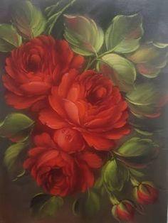 Resultado de imagem para tela de rosas