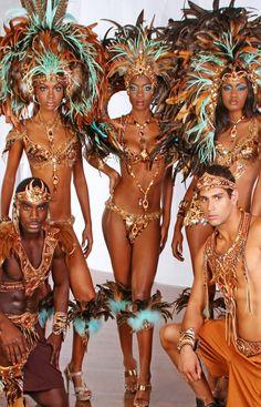 Trinidad Carnival - ReHumanize Island People Mas  Respect  Sonia Mack Carnival 2013
