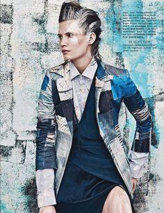 Drake Burnette by Sebastian Kim for Vogue Germany January 2014 8