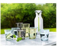 Eva Solo - Szklanka. chłodzący napój, woda z lodem, woda z cytryną, w ogrodzie, piknik, lato, wakacje