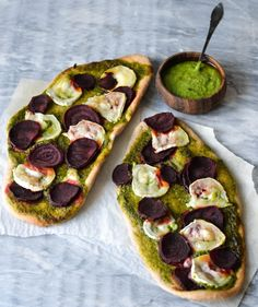 Sweet and savoury flatbreads - A tasty love story