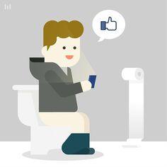Mark Zuckerberg #facebook #CEO #like #pictogram #illustration #graphic #shit #design #meanimize