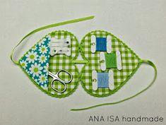 """ANA ISA Handmade: """"Flower Heart"""""""