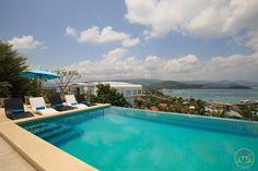 Вилла имеет замечательный вид на бухту Банг Рак, Вилла включает в себя: 4 спальни, 4 душевых, укомплектованную кухню, бассейн