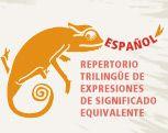 Repertorio trilingüe de expresiones.