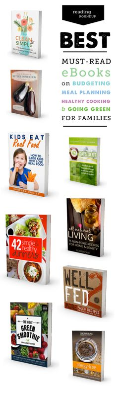 So many great finds on whole food eating, picky eaters, meal planning, going green, budgeting, non-toxic cleaning and more!