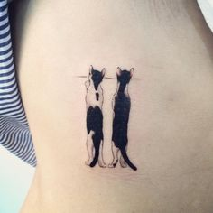 20 Examples of Cat Tattoos Every Cat Lover Will... - Small Tattoos Blog for Men…