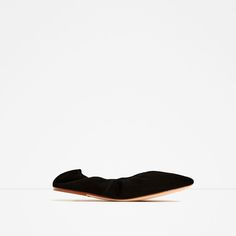 ZARA - COLLECTION SS/17 - SOFT LEATHER BALLERINAS