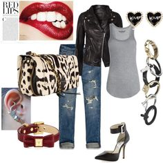 Bad Ass!, created by meli-k on Polyvore