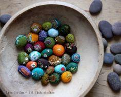 Art-o-mat stone progress - lil fish studios