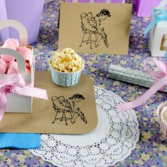 Adorable Vintage Ballerina Party Pieces available from The Party Cupboard
