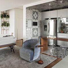 360 Degree Apartment by Diego Revollo - Design Milk Decor, Furniture, House Design, Interior, Home, Interior Spaces, House Interior, Home Interior Design, Interior Design