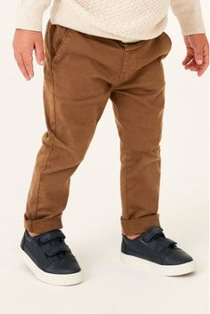 Buy Ginger Stretch Chinos from the Next UK online shop Stretch Chinos, Childrens Shoes, Occasion Wear, Next Uk, Uk Online, Boy Outfits, Portugal, Khaki Pants, Socks