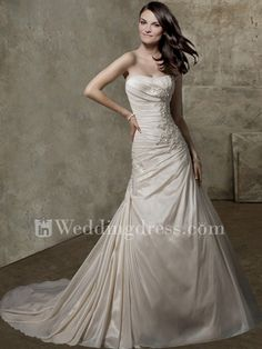 Beach Wedding Dresses,wedding dress,elegant wedding dress,strapless wedding dress,destination wedding dress