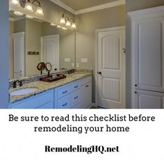 Use this home remodeling checklist as the starting point for your project. Read before you get started. Contemporary Bathroom Lighting, Contemporary Light Fixtures, Contemporary Vanity, Modern Wall Sconces, Shower Lighting, Bathroom Vanity Lighting, Bathroom Vanities, Remodeling Contractors, Home Remodeling