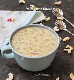 Palm Fruit Kheer / Ice Apple Kheer / Nungu Payasam is one of the delicious desserts that can be enjoyed in summer as these nungu is available in the summer months. This recipe is easy and prepared in minutes. Full fat milk is simmered with almond paste for few minutes.   #Ice Apple