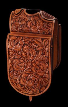Amazing work on this saddle bag!  A true work of art.