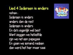 Switch lied 4 Iedereen is anders