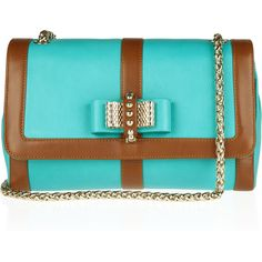 Christian Louboutin Sweet Charity leather shoulder bag found on Polyvore  Cute Handbags 79e940cc429c2