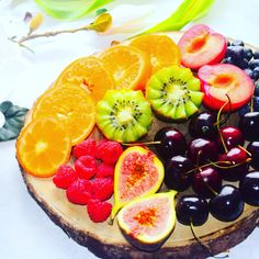 It's time for a #delicious #healthy #fruit platter. Which is your favourite fruit? ❤️
