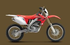 2013 CRF250X Red