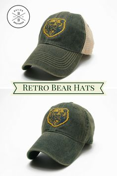 #Baylor Vintage Hats available at BailesBrothersClothiers.com