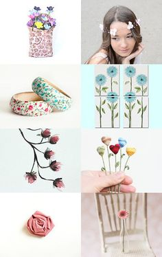 Flowers by Annemarie on Etsy--Pinned with TreasuryPin.com