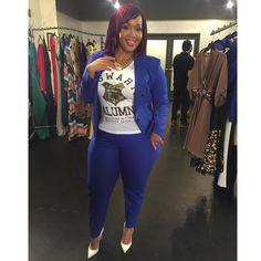Goo Goo Atkins' Best Curvy Fashion Looks - Essence Curvy Girl Fashion, Diva Fashion, Plus Size Fashion, Fashion Looks, Simply Fashion, Office Fashion, Trendy Fashion, Womens Fashion, Curvy Girl Outfits