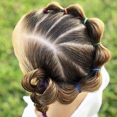 Girls Hairdos, Baby Girl Hairstyles, Princess Hairstyles, Cute Hairstyles, Braided Hairstyles, Toddler Hairstyles, Hair Due, Hair Creations, Pinterest Hair