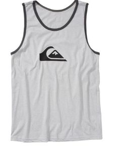 Quiksilver Gray Mountain Wave Tank Top #d4stor3ptynet #nba #instagood #nerd #nfl #comic #comiccon #anime