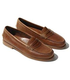 c3c4c3f27df Signature Handsewn Leather Loafer Loafers For Women Outfit