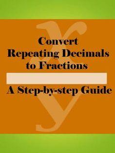 math worksheet : 20  converting repeating decimal numbers to fractions  math  : Repeating Decimals Worksheet