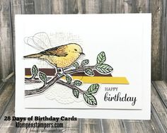 Klompen Stampers (Stampin' Up! Demonstrator Jackie Bolhuis): 28 Days of Birthday Cards -- Day #25