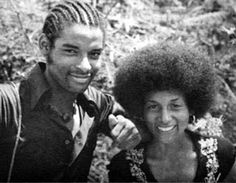 Ronnie James and Shanda James on a promotional brochure for Jonestown. Both died on Nov Jonestown Massacre, Crime Scenes, True Crime, Temple, Mystery, 18th, Winter Hats, Christian, Couple Photos