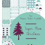 Christmas Planner Printables & Planner Stickers {Free!!}