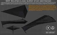 Eclipse class SSD Eclipse I ortho [Update] by unusualsuspex on DeviantArt