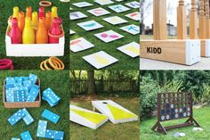 If you're having an outdoor wedding, lawn games are a fun way to make sure your guests are totally entertained! Great for cocktail hours and receptions.