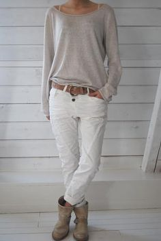 PLEASE JEANS - BIANCO