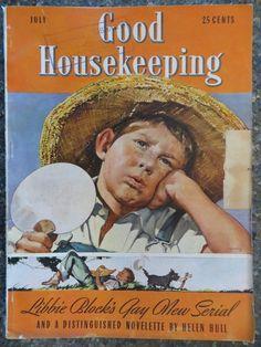 Good Housekeeping Magazine  July 1939  Horace Gaffron  VINTAGE ADS Donald Duck