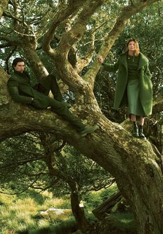 """Wild Irish Rose"" by Annie Leibovitz for Vogue September 2013"