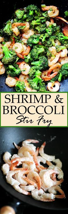 Shrimp and Broccoli Stir Fry. Sweet and sour garlicky and delicious this Shrimp and Broccoli Stir Fry is so easy to make and it only takes 20 minutes from start to finish! Stir Fry Recipes, Fish Recipes, Seafood Recipes, Asian Recipes, Cooking Recipes, Healthy Recipes, Garlic Shrimp Recipes, Healthy Shrimp Recipes, Shrimp And Rice Recipes