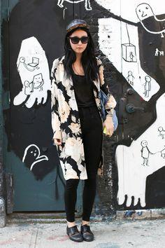 New York Spring 2013 - Model Street Style