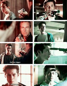 Stiles you're so brave but I'm always scared when someone tried to kill you but didn't // He looks so scared in the last pic and it breaks my heart.