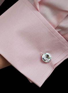 Swarowski Gemini cufflinks, Women