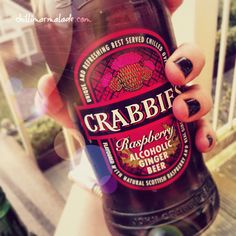 is this real? I think they made this especially for me! sounds like heaven! Beers Of The World, Ginger Beer, Summer Drinks, Craft Beer, Beer Bottle, Scotland, Raspberry, Alcohol, Marmalade