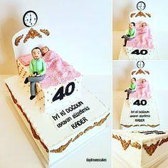 Iyi ki dogdun Kader😊🛏🎉🎈🎊🎁 @daydreamscakes #daydreamscakes #yataklipasta #bedcake #uyuyanprenses #kakaoteig #kakaokek #waldbeerentorte #bögürtlenlipasta  #wildberriescake #sugarart #sugarcake #sugarcraft #cakeart #cakedesign #caketopper #relief #ganache #fondant