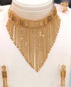 Gold Jewelry Simple, Trendy Jewelry, Fashion Jewelry, Jewelry Design Earrings, Gold Jewellery Design, Flower Jewelry, Pakistani Bridal Jewelry, Bridal Jewellery, Gold Ring Designs