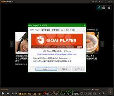 GOM Player 2.3.6.5259  GOM Player--プログラム情報--オールフリーソフト