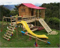 casitas de madera para ninos - Buscar con Google
