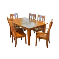 Table & Chairs :: frontier shaker table and chairs - Frontier Furniture | Amish Furniture Store